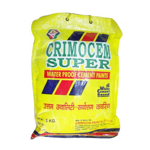 CRIMOCEM SUPER WATER PROOF CEMENT PAINT 5 kg
